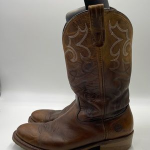 Double H Boots Men Size 12B Work Western Oil and Slip Resistant DH1552 Leather